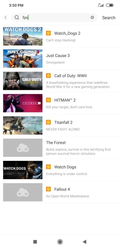 Best GLOUD games android