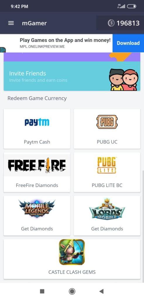 Get UC coins pubg