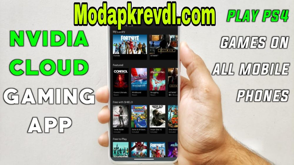 Play Nvidia PS4 GAMES ON ANDROID | FOR EVERYONE