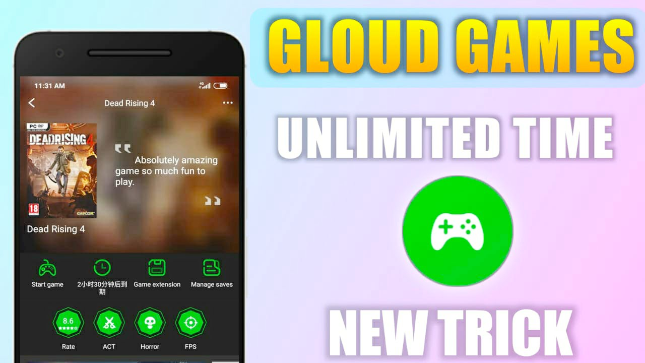 {New Trick} How To Get Unlimited Time In Gloud Games With This New Trick
