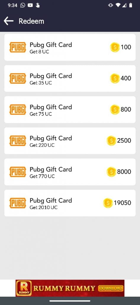 get free uc pubg app android