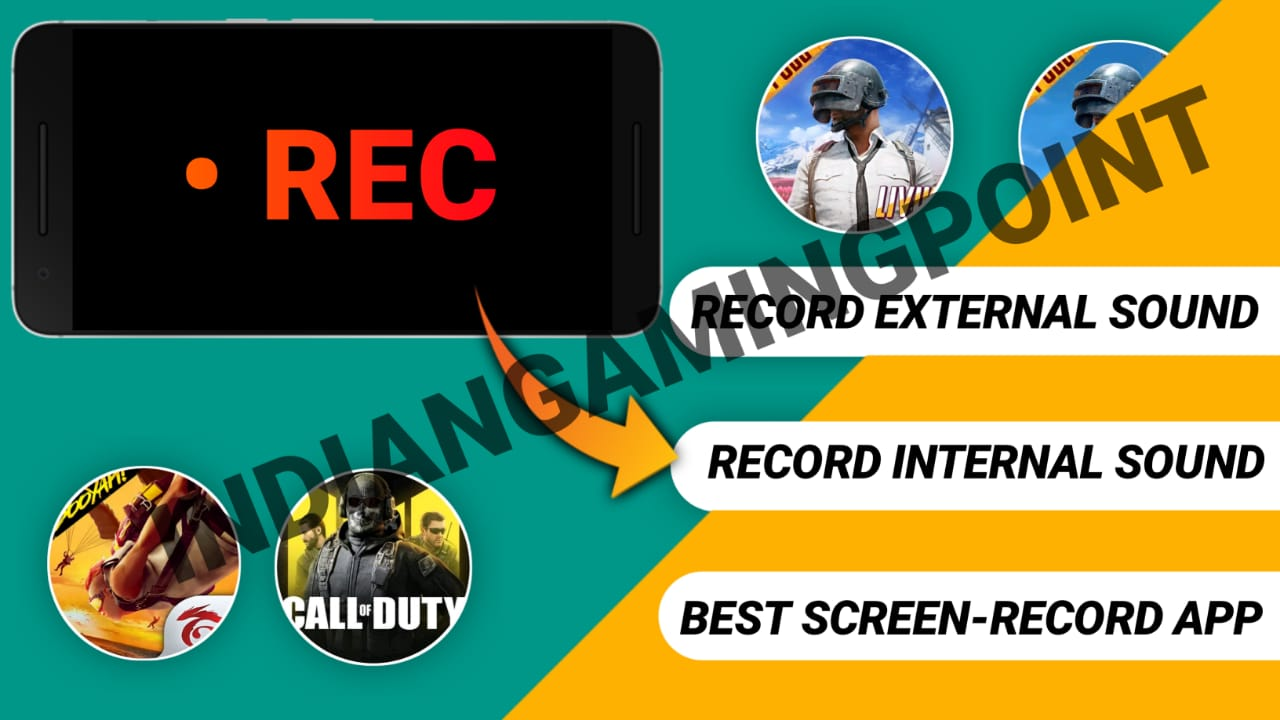 Best Screen Recorder For Game play || With Clear Internal, External Audio