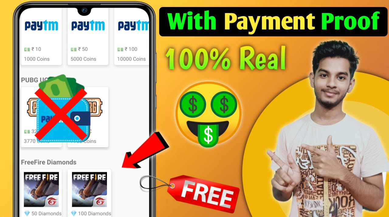 How To Earn Google Play Gift Cards without PAYTM – Redeem Codes, Amazon & Free Fire Voucher !