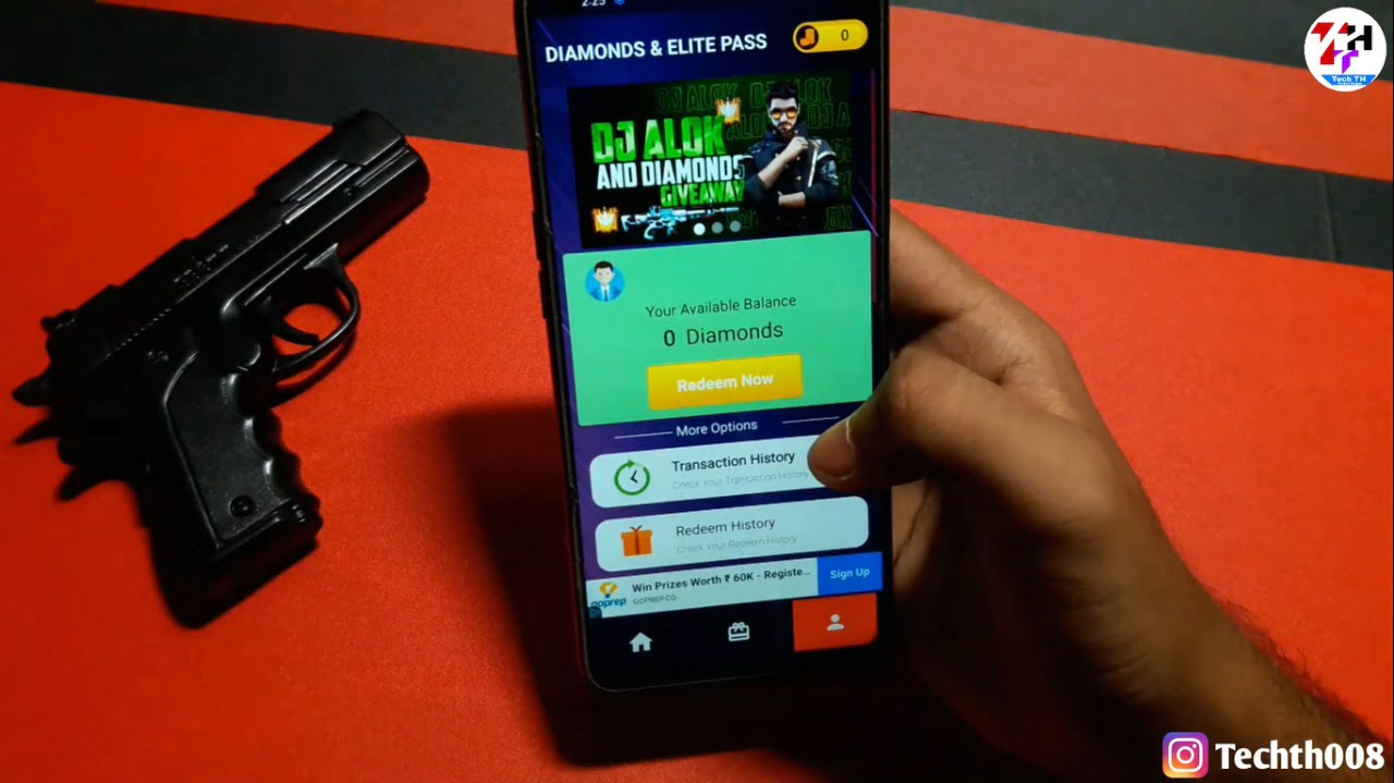 Free Diamonds And Elite Pass App Download