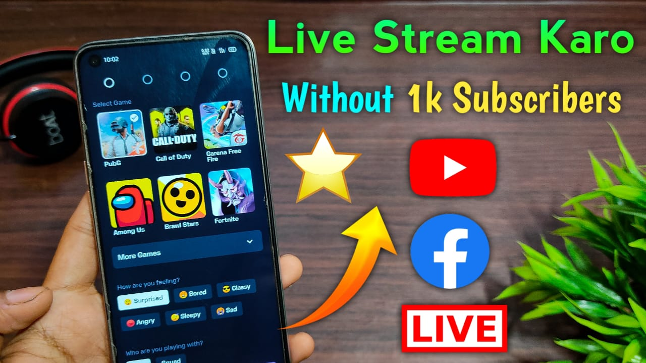 How To Do Live Stream Less Than 1k Subscribes || Without Elgato, PC