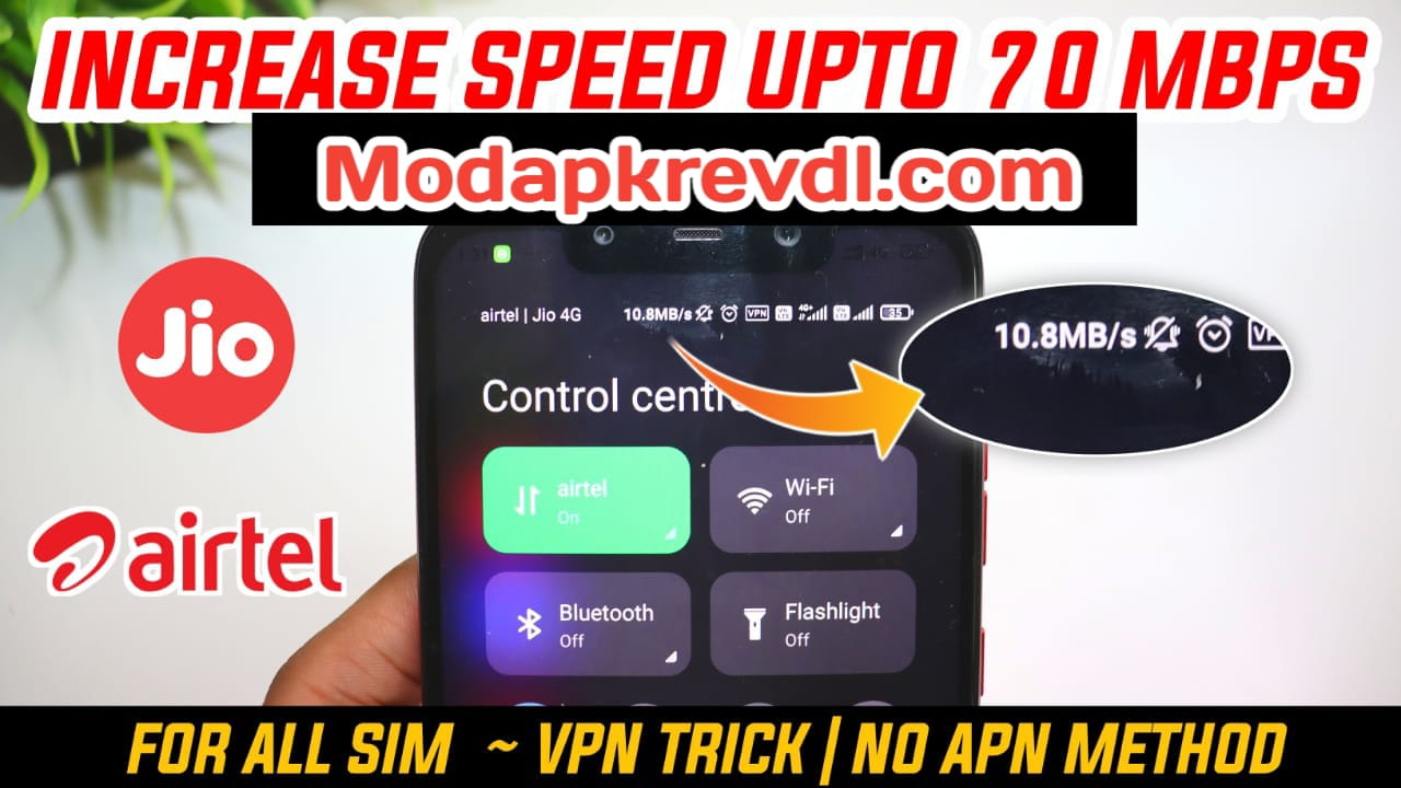 How To Increase Internet Speed In Any Network Up To 70 MB/S, Proof Method