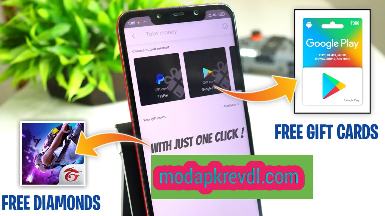 Best Method, How to Earn Google Play Redeem Code & Free Fire Diamonds