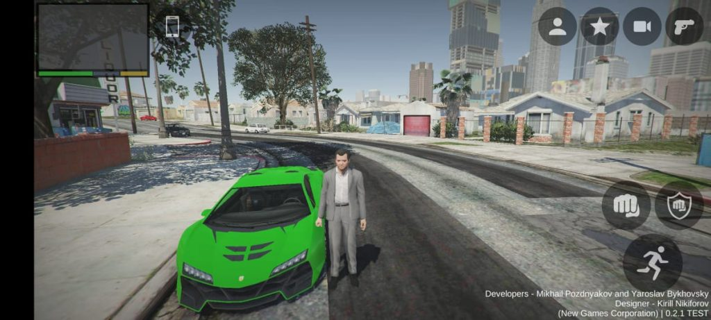 Full game play of fan made GTA 5