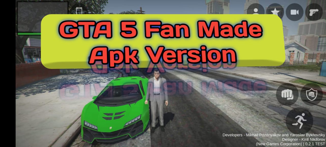 GTA 5 Android Fan Made NEW UPDATE Download
