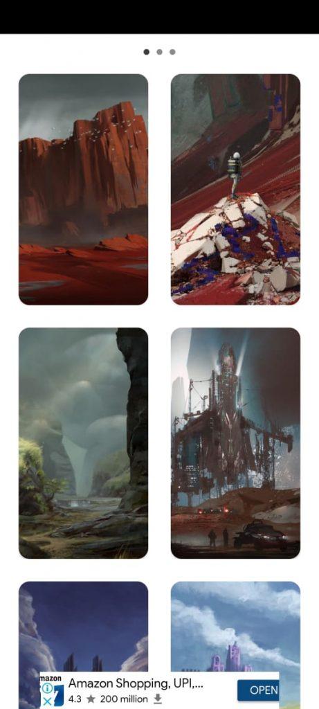 Best 3 wallpapers apps