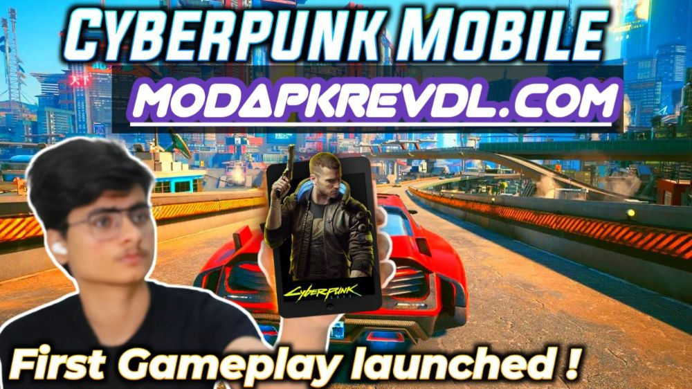 Cyberpunk For Android Mobile || First Launched Gameplay || Download