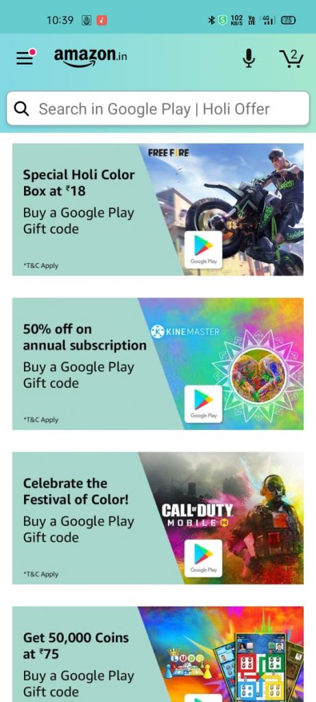 how to get google, amazon gift cards with app