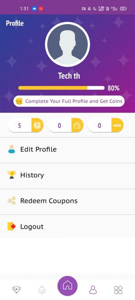 How to earn paytm prizes winzy app