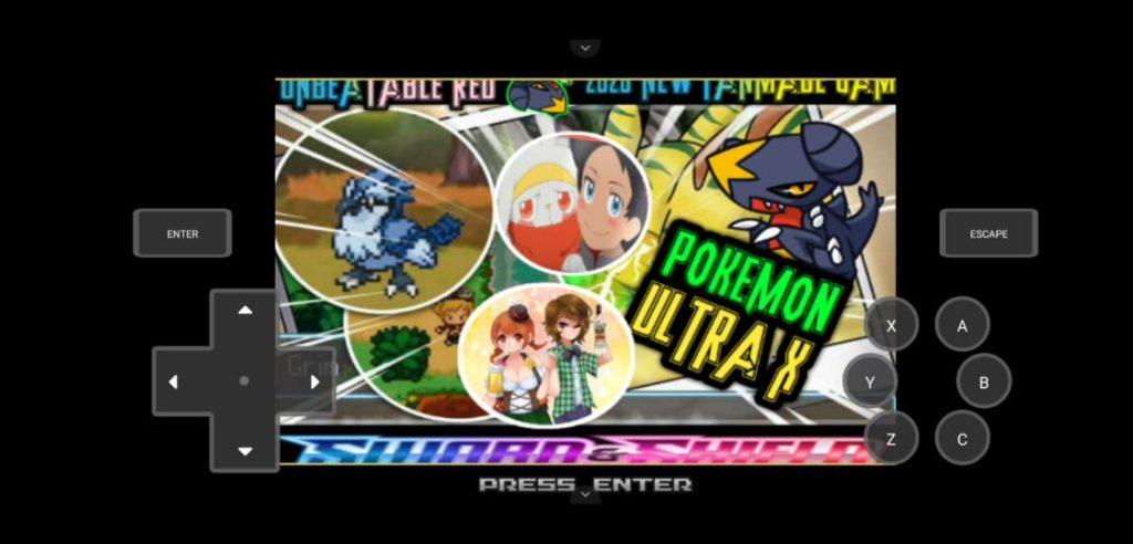 Pokémon X ultra game
