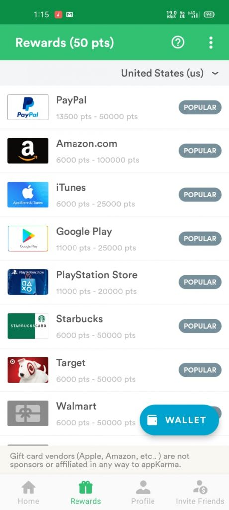 appkarm app rewards