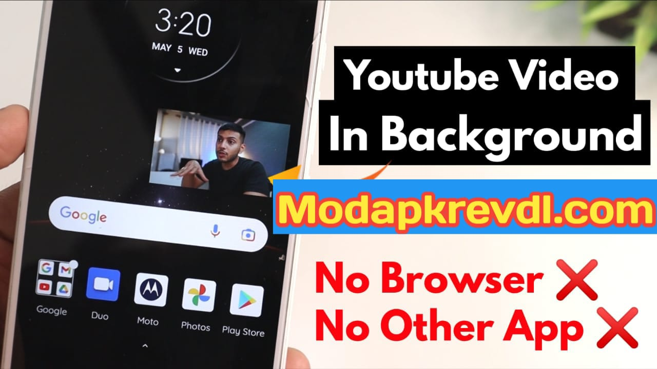 How To Run YouTube Video In Background, Android 2021 Trick