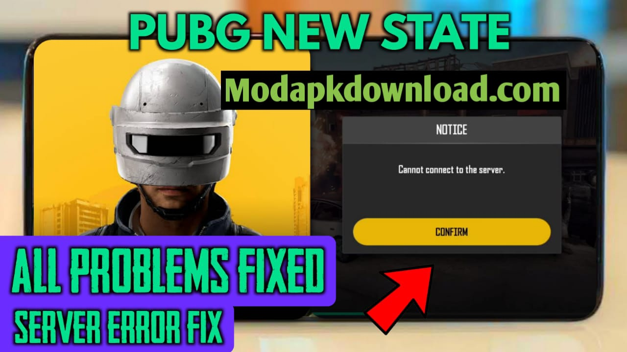 New Update || PUBG NEW STATE PLAY IN  INDIA || CONNECT TO SERVER FIX || APK + OBB