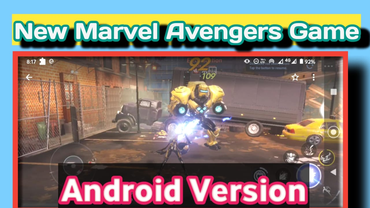 Download New Marvel Avengers Game For Android