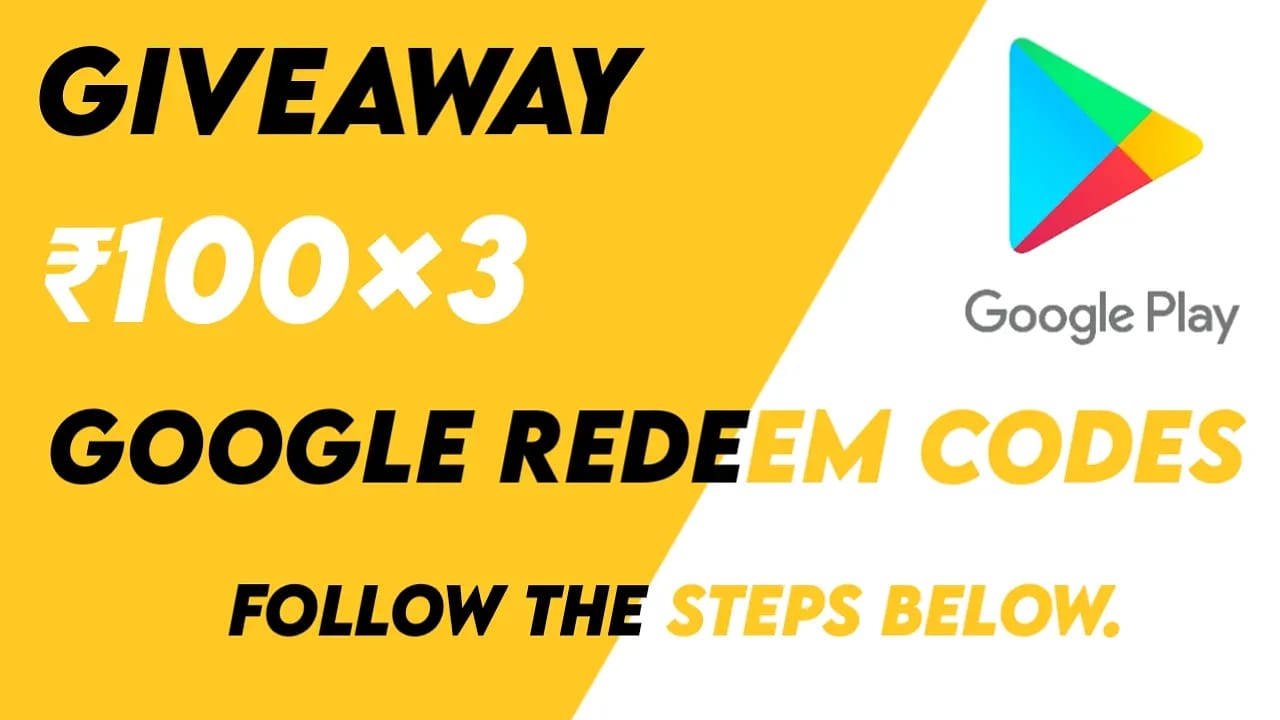 How To Participate In Techth Google Play Redeem Codes Giveaway