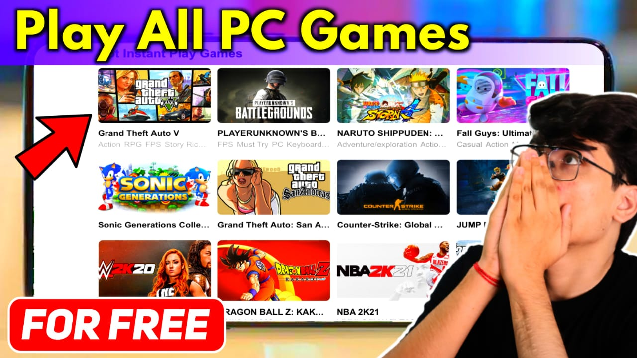 CG Emulator To Play All PC Games On Android Device